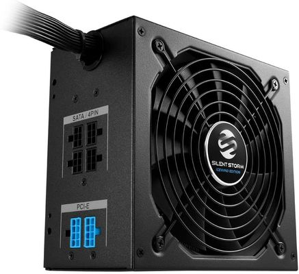 Sharkoon silentstorm Ice Wind Black ATX PC power supply (80 + Bronze, DC to DC technology, cable management, Ribbon cable) black black 650 Watt – Bild 3