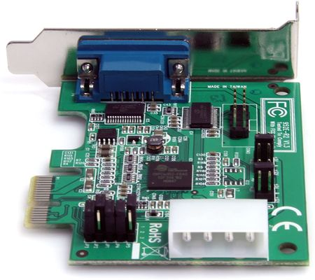 StarTech.com 2 Port PCI Express Serielle RS232 Low Profile Karte mit 16950 UART – Bild 3