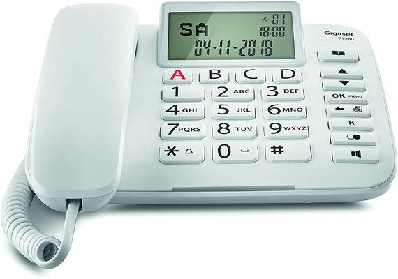 Gigaset DL380 Analoges Telefon Weiß Anrufer-Identifikation – Bild 2