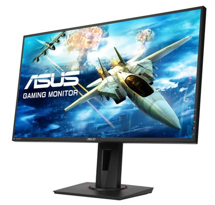 ASUS Gaming Monitor VG278Q 68,6 cm (27 Zoll) 1920 x 1080 Pixel Full HD LED Schwarz – Bild 4