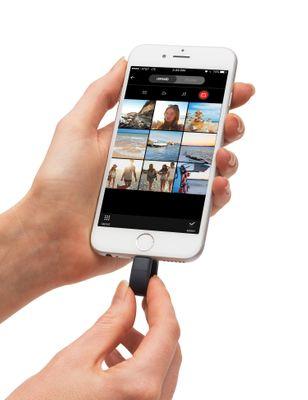 Sandisk iXpand USB-Stick 64 GB USB Type-A / Lightning 3.2 Gen 1 (3.1 Gen 1) Schwarz, Silber – Bild 4