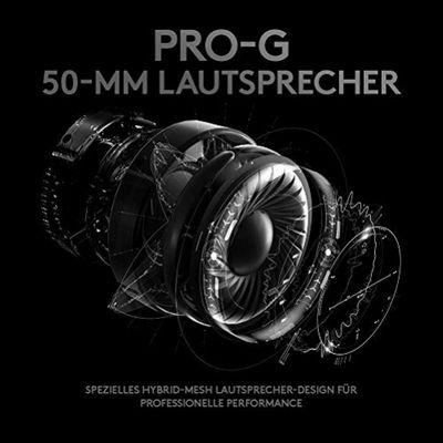 Logitech G PRO Gaming Kopfhörer Kopfband Schwarz – Bild 3