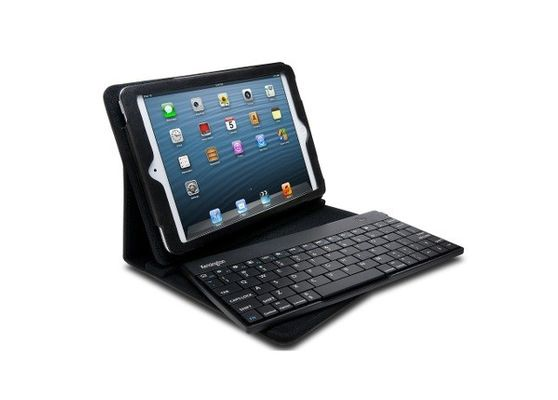 Kensington KeyFolio Pro 2 Removable Keyboard Case & Stand for iPad Mini Bluetooth black K39755F (FR Layout – AZERTY)