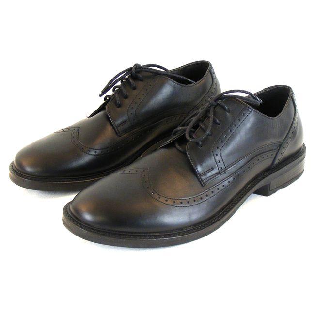 Naot Herren Schuhe Schnürhalbschuhe Magnate Leder schwarz 10122 Wechselfußbett – Bild 1