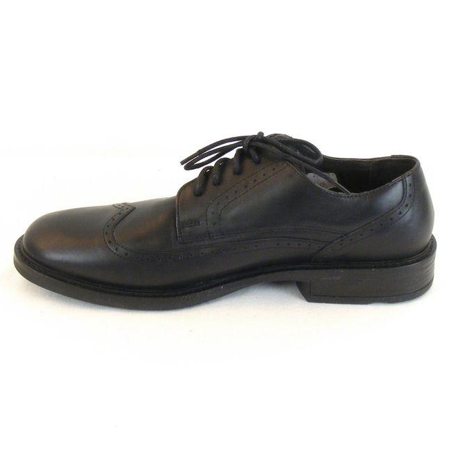 Naot Herren Schuhe Schnürhalbschuhe Magnate Leder schwarz 10122 Wechselfußbett – Bild 2