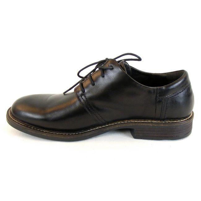 Naot Herren Schuhe Schnürhalbschuhe Chief Leder schwarz 10234 Wechselfußbett – Bild 2