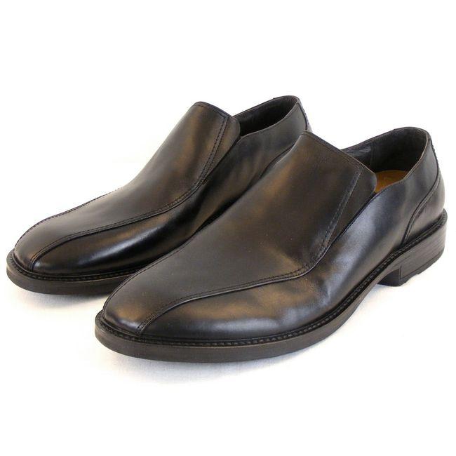 Naot Herren Schuhe Slipper Success Leder schwarz 10240 Wechselfußbett Echtleder – Bild 1