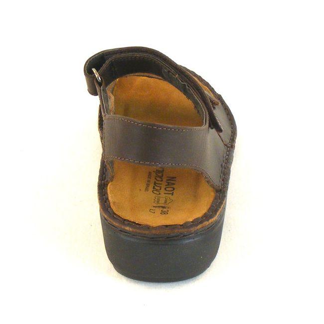 Naot Damen Schuhe Sandaletten Karenna Leder dunkelbraun 10312 Wechselfußbett – Bild 3