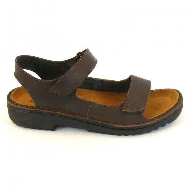 Naot Damen Schuhe Sandaletten Karenna Leder dunkelbraun 10312 Wechselfußbett – Bild 4