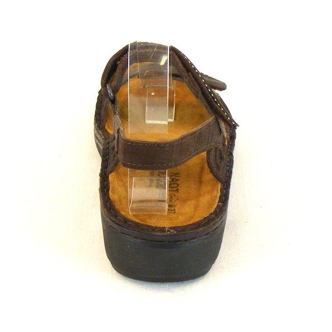 Naot Damen Schuhe Sandaletten Anika Echt-Leder braun 10318 Wechselfußbett – Bild 3