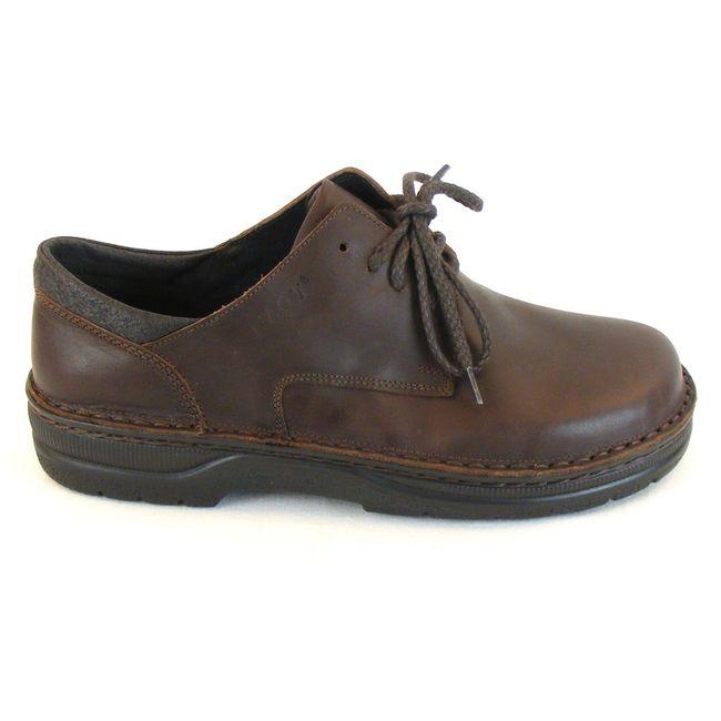 Naot Herren Schuhe Schnürhalbschuhe Denali Leder braun buffalo Fußbett 10416 – Bild 4