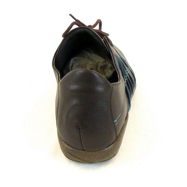 Naot Damen Schuhe Halbschuhe Tanguru Leder dunkelbraun combi 11089 Fußbett – Bild 3