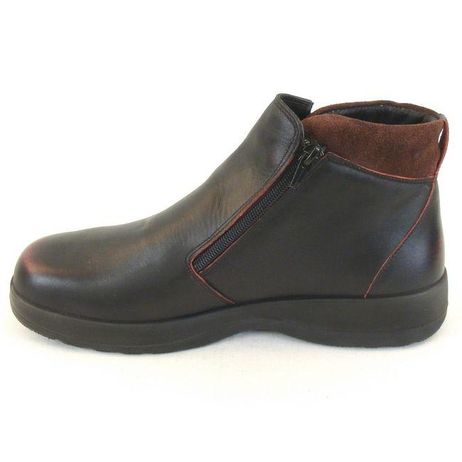 Naot Damen Schuhe Stiefeletten Lynx Leder schwarz rot Wechselfußbett 11101 – Bild 2