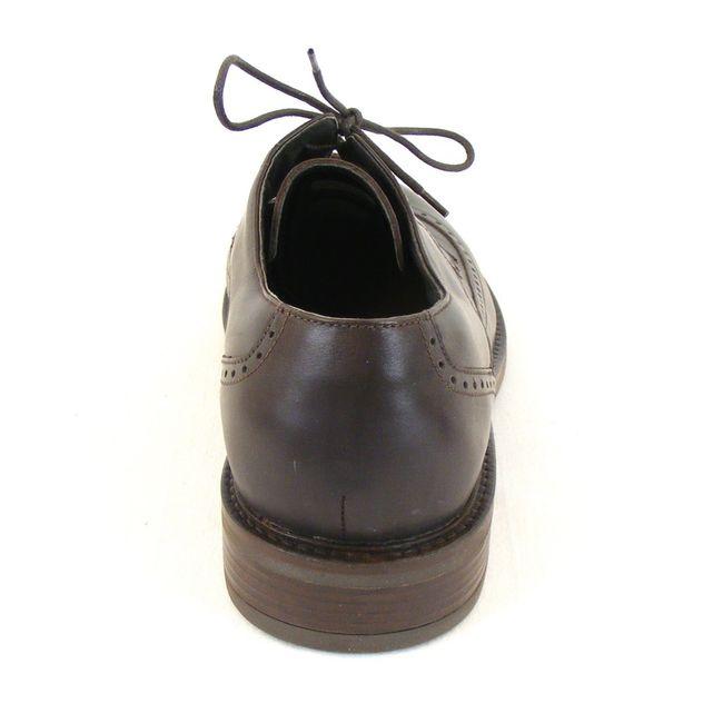 Naot Herren Schuhe Schnürhalbschuhe Magnate echt Leder dunkelbraun 11773 Fußbett – Bild 3