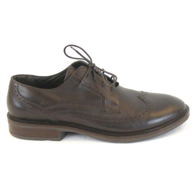 Naot Herren Schuhe Schnürhalbschuhe Magnate echt Leder dunkelbraun 11773 Fußbett – Bild 4
