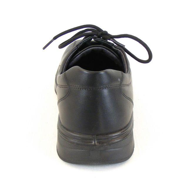 Naot Herren Schuhe Schnürhalbschuhe Mark Echt Leder schwarz 11821 Wechselfußbett – Bild 3