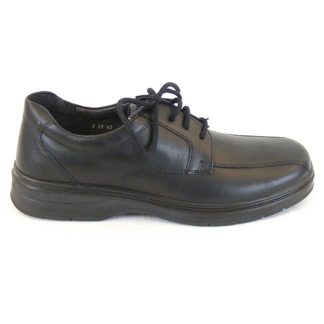 Naot Herren Schuhe Schnürhalbschuhe Mark Echt Leder schwarz 11821 Wechselfußbett – Bild 4