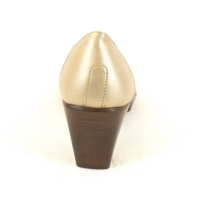 Naot Damen Schuhe Pumps Rabat Leder soft gold 11865 Wechselfußbett Fußbett – Bild 3