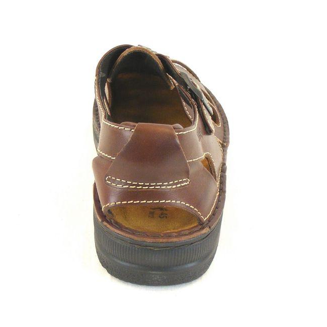 Naot Herren Schuhe Sandaletten Julius Leder braun 12105 Wechselfußbett Freizeit – Bild 3