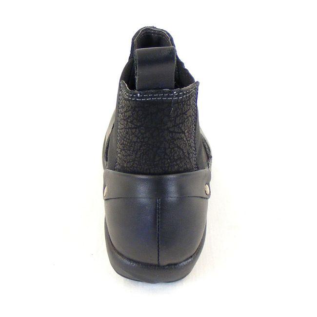 Naot Damen Schuhe Chelsea-Boots Konini Leder schwarz combi 12826 Wechselfußbett – Bild 3