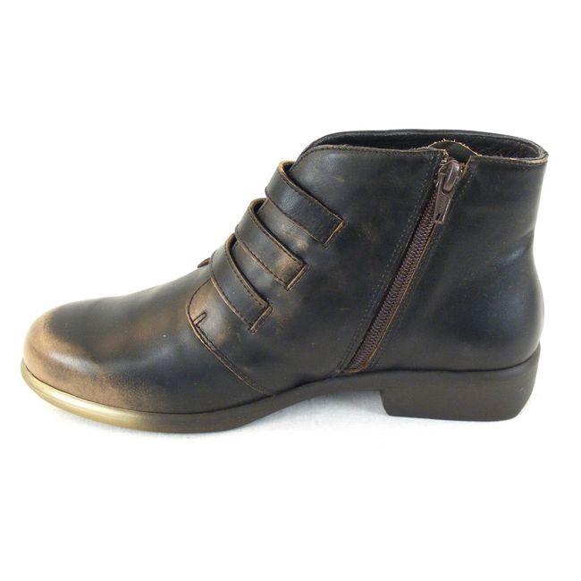 Naot Damen Schuhe Stiefeletten Calima Echt Leder Vintage braun combi 12832 – Bild 2