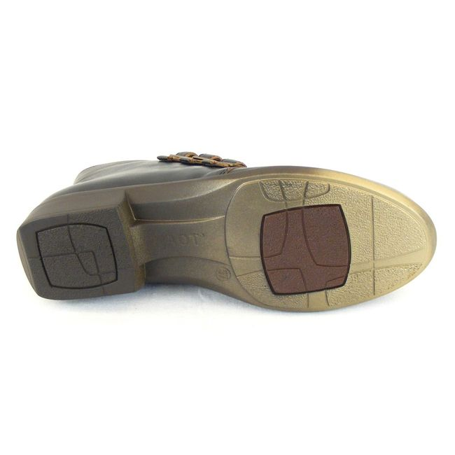 Naot Damen Schuhe Stiefeletten Calima Echt Leder Vintage braun combi 12832 – Bild 5