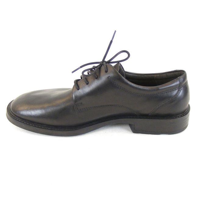 Naot Herren Schuhe Schnürhalbschuhe Wisdom  Leder schwarz 12909 Wechselfußbett – Bild 2