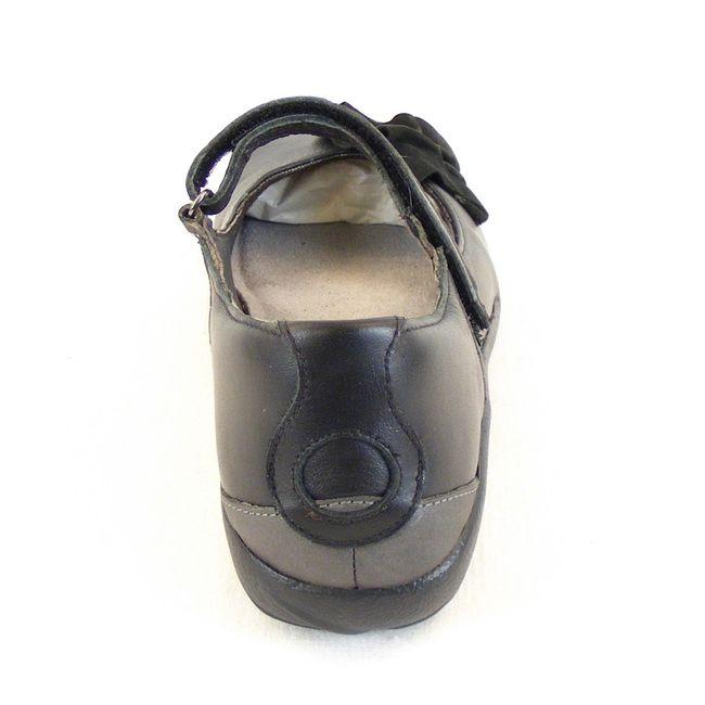 Naot Damen Schuhe Mary Jane Spangenschuhe Titoki Leder schwarz grau combi 12951 – Bild 3