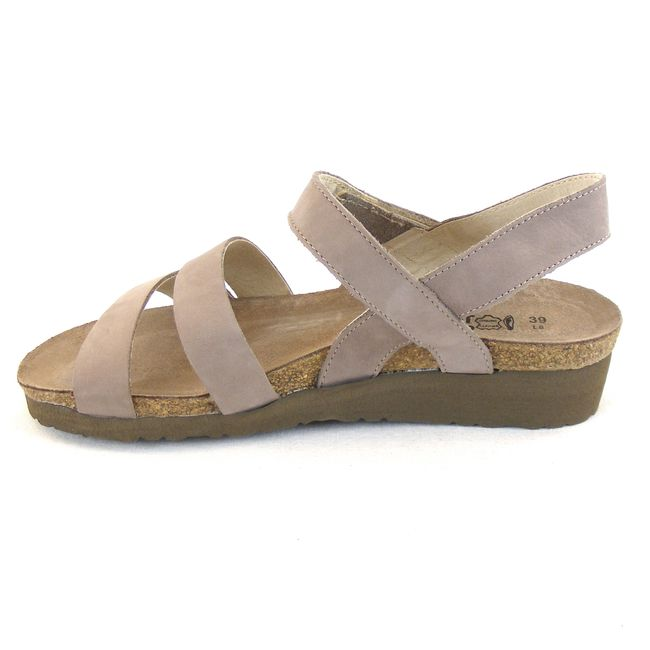 Naot Damen Schuhe Sandaletten Kayla Echt Leder stone 13923 Korkfußbett Freizeit – Bild 2