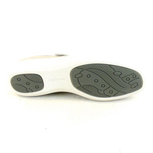 Stuppy Damen Schuhe Halbschuhe Leder Stretch hellgrau 14110 Wechselfußbett – Bild 5
