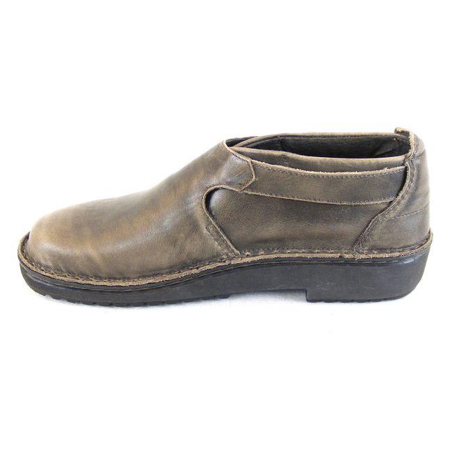 Naot Damen Schuhe Halbschuhe Echt-Leder Malta vintage grau 14630 Wechselfußbett – Bild 2