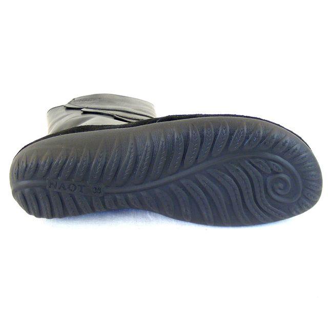 Naot Damen Schuhe Stiefeletten Melia Echt-Leder schwarz combi 14657 Fußbett – Bild 5
