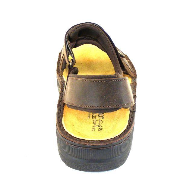 Naot Herren Schuhe Sandaletten Arthur Echt-Leder dunkelbraun matt Fußbett 15968 – Bild 3