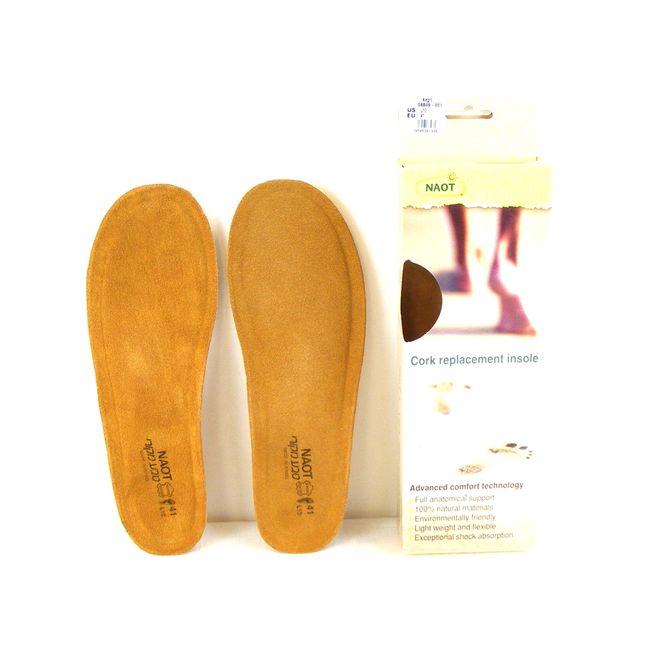 Naot Damen Schuhzubehör Fußbetten Kork/Leder Alegro Einlegesohlen 15991 – Bild 1