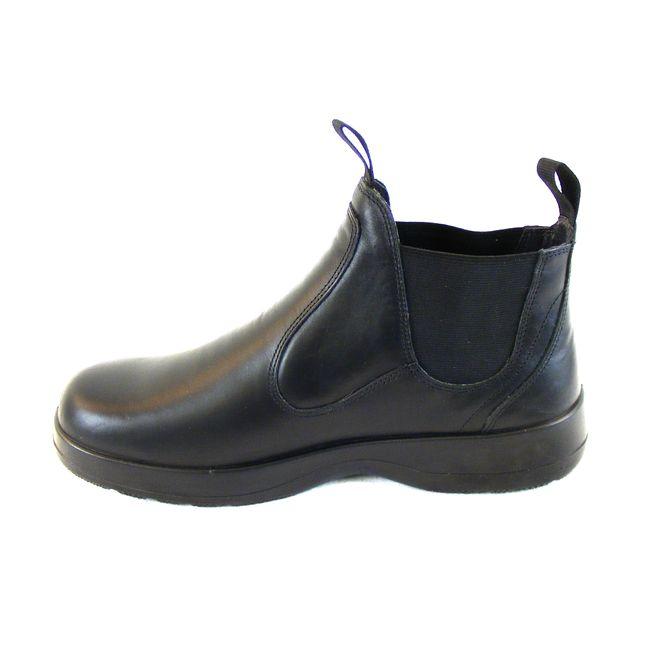 Naot Damen Schuhe Chelsea Boots Iguana Echt-Leder schwarz Wechselfußbett 16008 – Bild 2