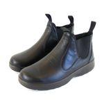 Naot Damen Schuhe Chelsea Boots Iguana Echt-Leder schwarz Wechselfußbett 16008 001