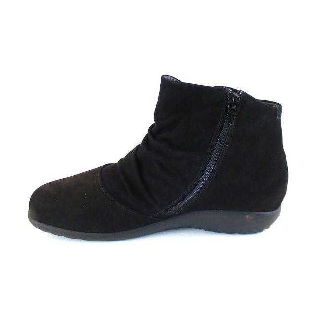 Naot Damen Schuhe Stiefeletten Kahika Echt-Leder schwarz Wechselfußbett 16013 – Bild 2