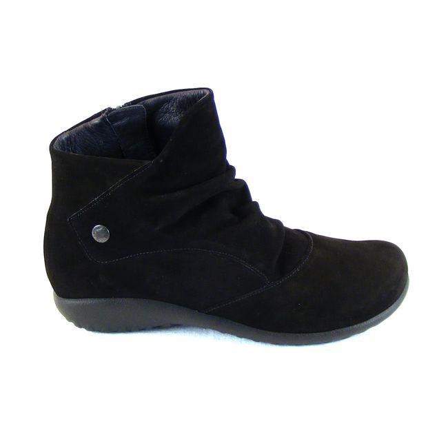 Naot Damen Schuhe Stiefeletten Kahika Echt-Leder schwarz Wechselfußbett 16013 – Bild 4