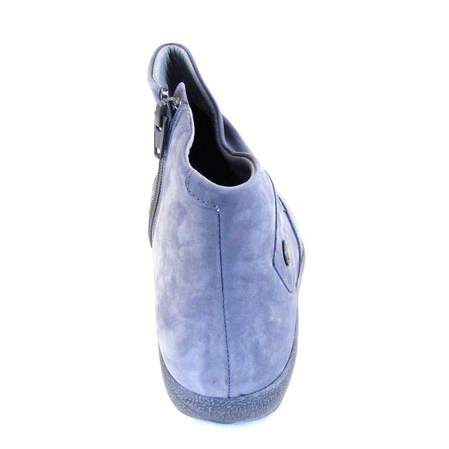 Naot Damen Schuhe Stiefeletten Kahika Echt-Leder hellblau Wechselfußbett 16026 – Bild 3