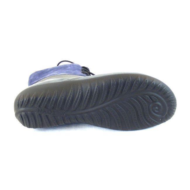 Naot Damen Schuhe Stiefeletten Atopa Echt-Leder grau blau combi Fußbett 16032 – Bild 5
