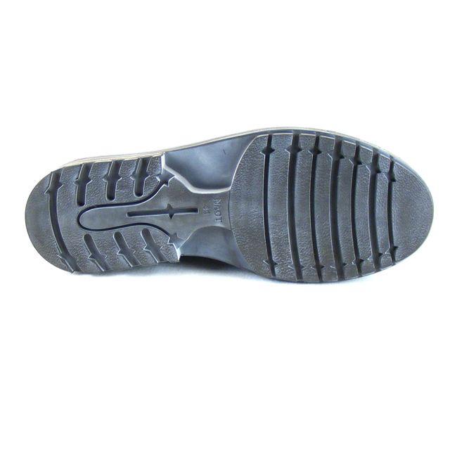 Naot Herren Schuhe Halbschuhe Simiyu Echt-Leder schwarz Wechselfußbett 16200 – Bild 5