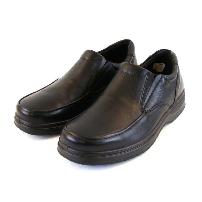 Naot Herren Schuhe Slipper Gary Echt-Leder schwarz Wechselfußbett 16314 – Bild 1