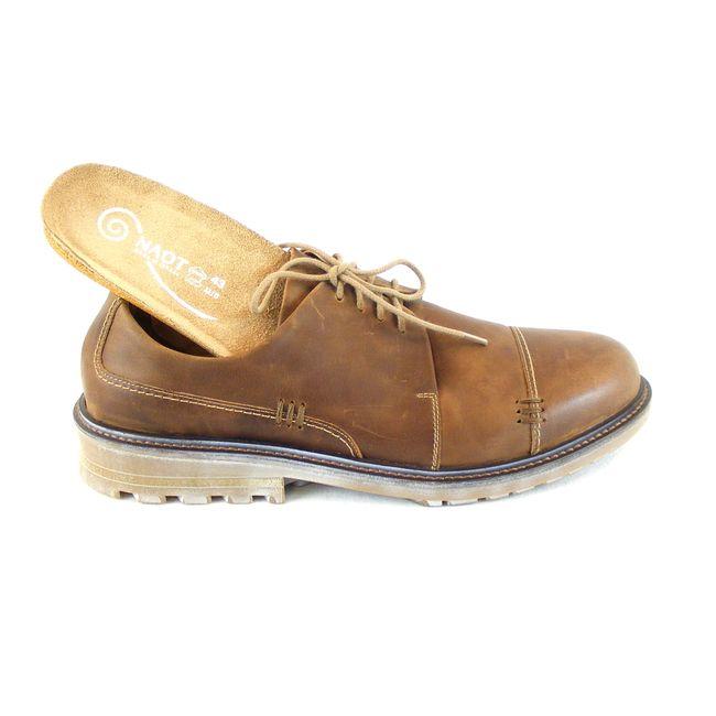 Naot Herren Schuhe Halbschuhe Simiyu Echt-Leder saddle braun Fußbett 16356 – Bild 6
