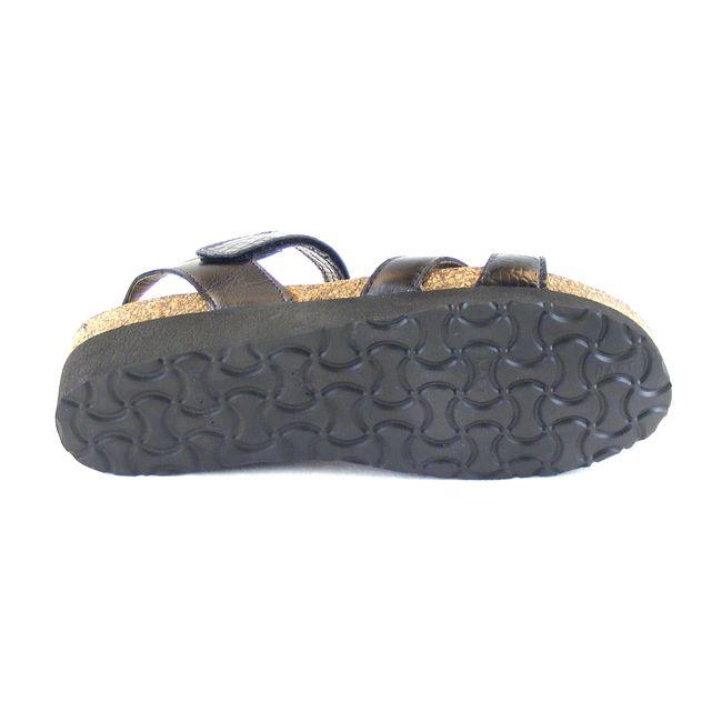 Naot Damen Schuhe Sandaletten Alexis Echt-Leder schwarz Korkfußbett 16362 – Bild 5