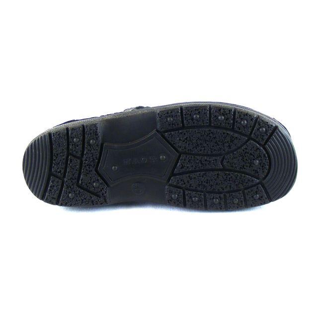 Naot Herren Schuhe Sandaletten Julius Echt-Leder schwarz matt Wechselfußbett    – Bild 5