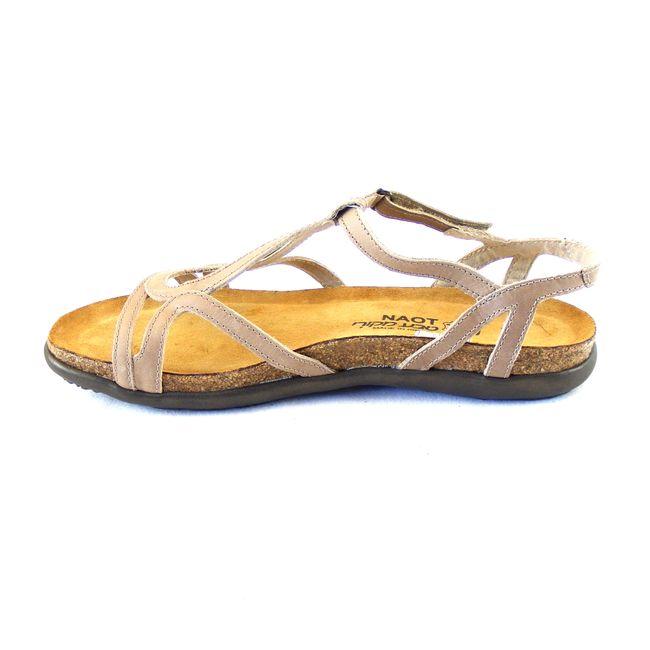 Naot Damen Schuhe Sandaletten Dorith Echt-Leder beige Korkfußbett 16657 – Bild 2