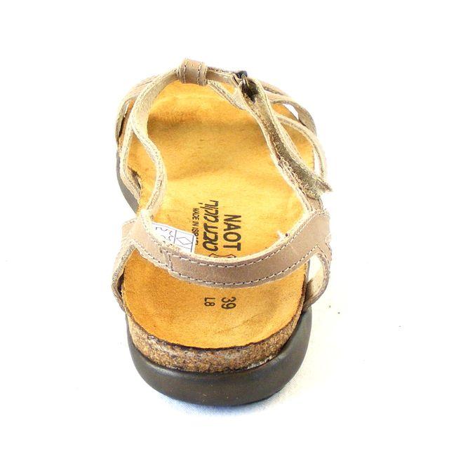 Naot Damen Schuhe Sandaletten Dorith Echt-Leder beige Korkfußbett 16657 – Bild 3