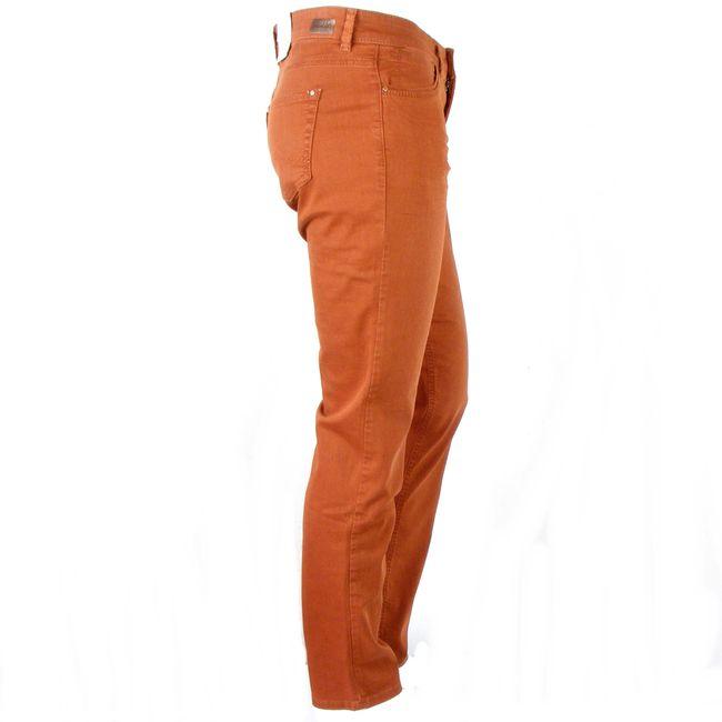 MAC Damen Straight Jeans Carrie Pipe Farbe Zimt Baumwoll Mischung 34655 – Bild 4