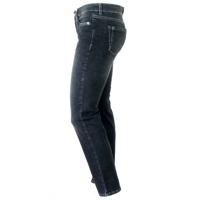 MAC Damen Jeans Angela  PERFECT Fit Forever Denim dark grey used Slim Fit 34693 – Bild 2