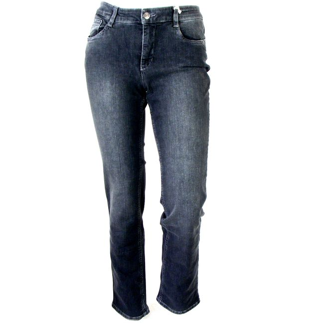 MAC Damen Jeans Melanie grau dezenter used Look Fivepocket 34697 – Bild 1